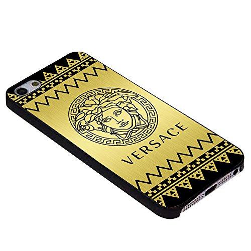Cevron Versace Gold for Iphone Case (iPhone 6s plus black)