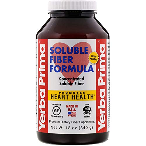 Soluble Fiber Formula Yerba Prima 12 oz Powder
