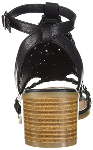 Sugar Heeled robin Sandal Black Women's Jr YYqOw1C