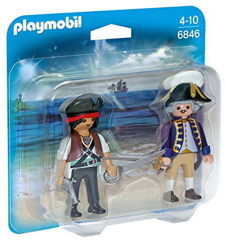 French Soldier Figure - PLAYMOBIL Pirate and Soldier Duo Pack