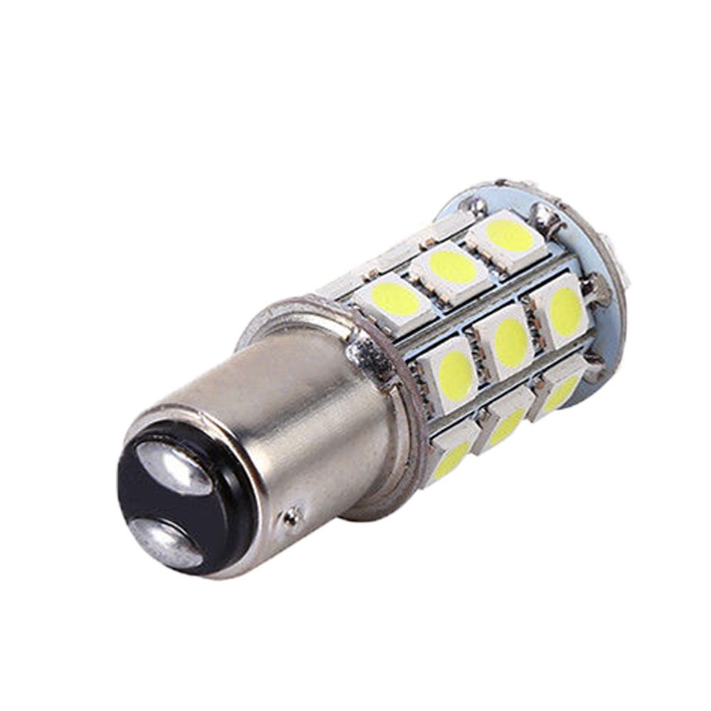Connoworld Clearance Sale Universal 1157 SMD 5050 Car 12V LED Tail Brake Reversing Backup Light Bulb Lamp White