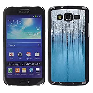 "For Samsung Galaxy Grand 2 II , S-type Naturaleza Hermosa Forrest Verde 133"" - Arte & diseño plástico duro Fundas Cover Cubre Hard Case Cover"