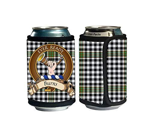 Scottish Beer (Burns Scottish Clan Check Tartan Beer Can Cozie, Can Cooler)