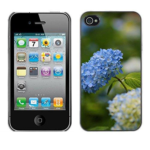 Premio Sottile Slim Cassa Custodia Case Cover Shell // F00003161 une fleur // Apple iPhone 4 4S 4G