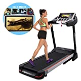 10.1 Inch WIFI Large Color Touch Screen 3.0 HP Folding Treadmill Z5500 Health Fitness Training Equipment (Type 1)