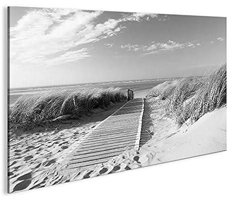 Black Ocean 3 Bilder Bild Strand Meer auf Leinwand Wandbild Poster