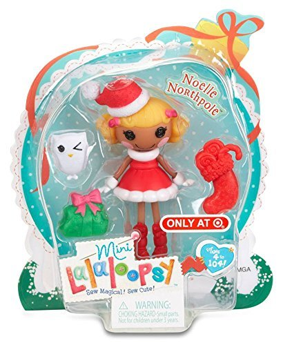 Lalaloopsy Christmas Holiday Exclusive Mini Noelle -