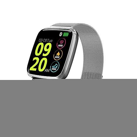 ZLOPV Pulsera Smartwatch GPS Sport Activity Tracker Hombre Pulsera ...