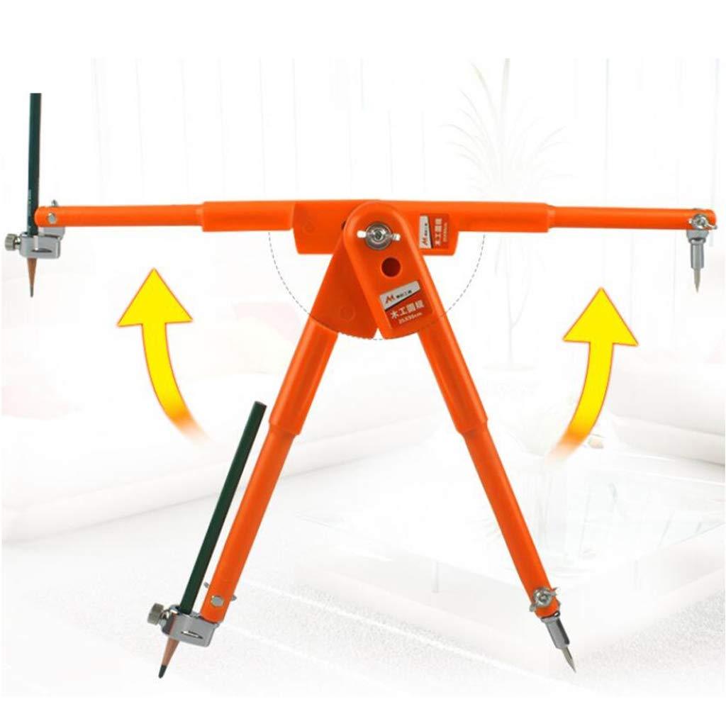 B Blesiya 2 Compas//Set Compas /à Crayons de Precision Pieds /à coulisse Orange L