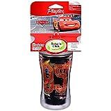 Playtex Baby Insulator, Spill-proof 9 Oz Cup: Disney Cars Black Cup Lightning Mcqueen 95