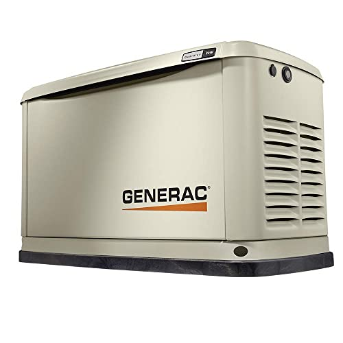 Generac 7029 Guardian Series 9kW 8kW Air Cooled Home Standby Generator no Transfer Switch