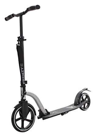 Frenzy 230mm Recreational Scooter - Silver