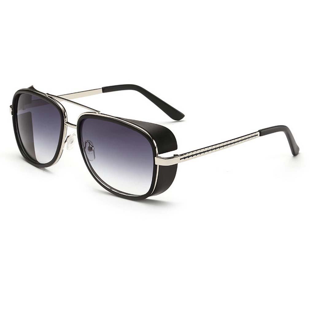 V House Men Women Sunglasses Iron Man Tony Driving Sunglasses Frog Mirror Glasses C1