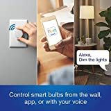 Lutron Z3-1BRL-WH-L0-2 Aurora Smart Bulb Dimmer, 2