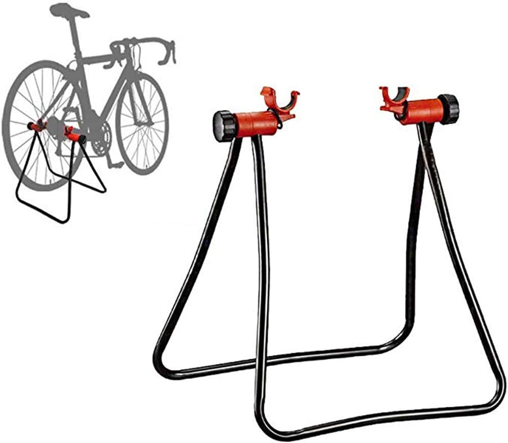 ZXXxxZ Soporte de Bicicleta, Bicicleta de Estante de reparación mecánica Plegable de Altura Ajustable Soporte para Almacenamiento de Bicicletas: Amazon.es: Deportes y aire libre