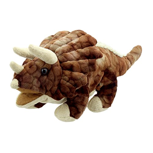 The Puppet Company Baby Triceratops Dinosaur Hand Puppet