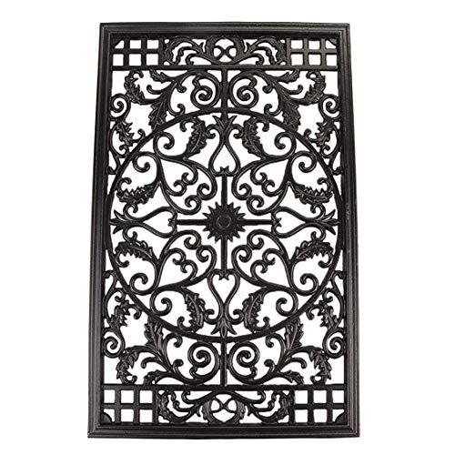 Nuvo Iron Rectangular Decorative Insert For Fencing, Gates, Home, Garden, ACW61