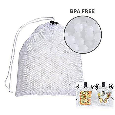 Amazon.com: locisne Sous Vide Bolas de cocción sin BPA 20 mm ...