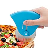Pizza Cutter, Elevin(TM) Pizza Cutter Wheel Pizza Slicer Cutter Stainless Steel Super Sharp