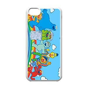 Elmo iPhone 5c Cell Phone Case-White Phone cover SE8603472