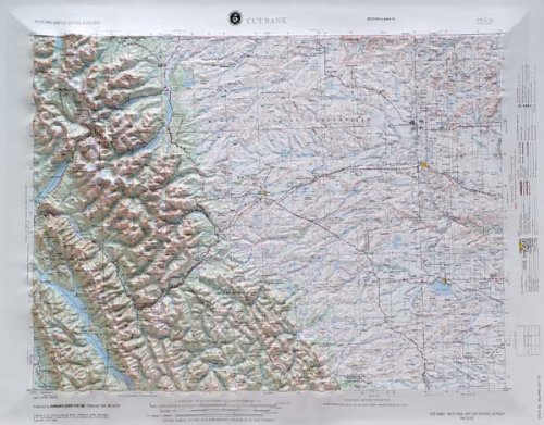 Cut Bank, Montana (Western United States 1:250,000, V502P)
