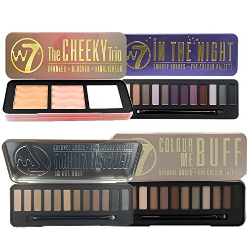 W7 Ultimate Collection 2 Includes In The Buff, Lightly Toasted, In the Night & Cheeky Trio