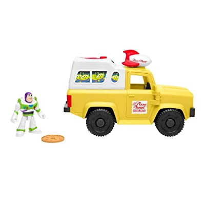 Fisher-Price Imaginext Toy Story Buzz Lightyear & Pizza Planet Truck: Toys & Games