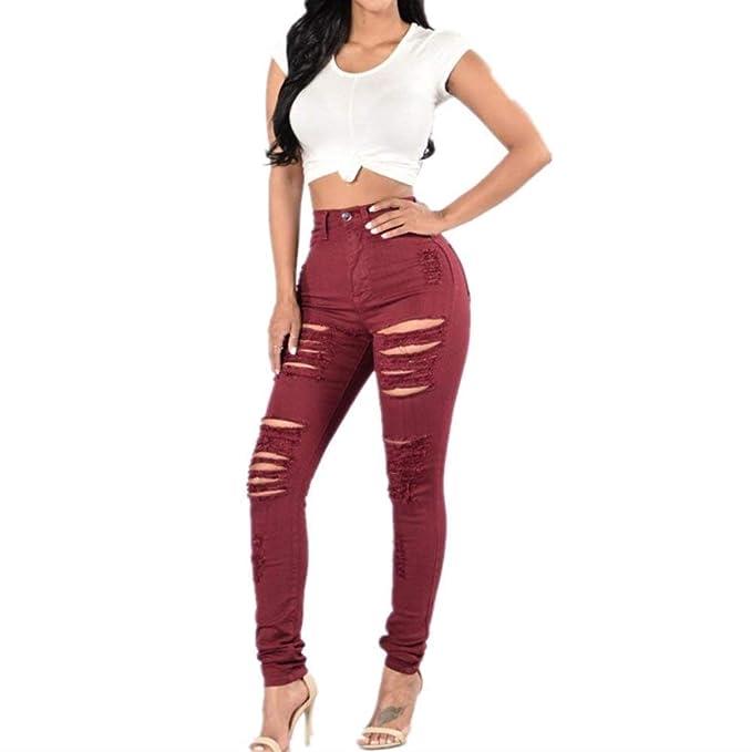 BIRAN Pantalones De Lápiz De Mujer Pantalones Elásticos ...