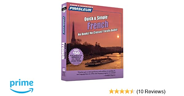 Amazon. Com: french (pimsleur quick and simple) (english and french.