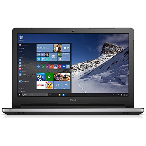 Dell Inspiron 15 5000 Series  15.6 Inch Laptop (Intel Core i5 5200U, 8 GB RAM, 1 TB HDD, Silver) with MaxxAudio