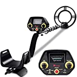 RM RICOMAX Metal Detector - High-Accuracy Metal Finder with Discrimination Mode, Tone Mode, View Meter, 8