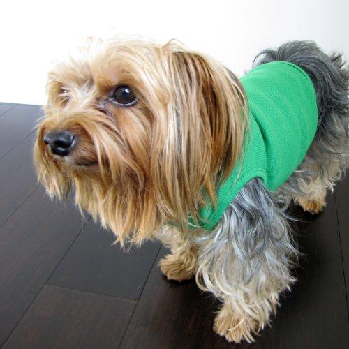 Lawn Green Dog Shirt Medium, My Pet Supplies