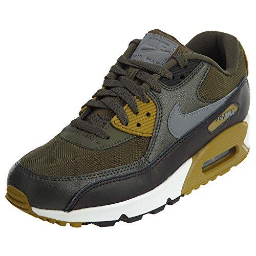 10 607 Essential Size Men's Max 90 537384 Air Grey Cargo Nike black Red Cool Khaki Iz0Raxx