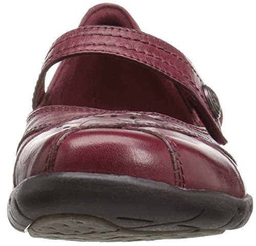 Cobb Bakke Rockport Womens Petra Mary Jane Flat, Bordeaux, ...