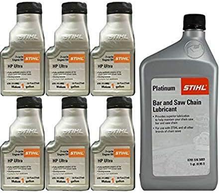 Stihl Motosierra cadena de mezcla de aceite y lubricante): Amazon ...