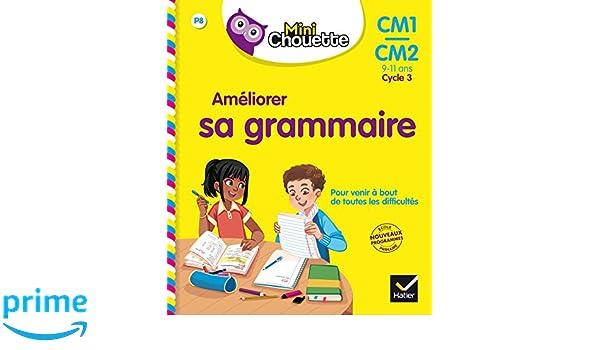 Mini Chouette - Améliorer sa Grammaire CM1/CM2 9-11 ans: Amazon.es: Lou Lecacheur, Valérie Marienval, Jean-Jacques Rodes: Libros en idiomas extranjeros