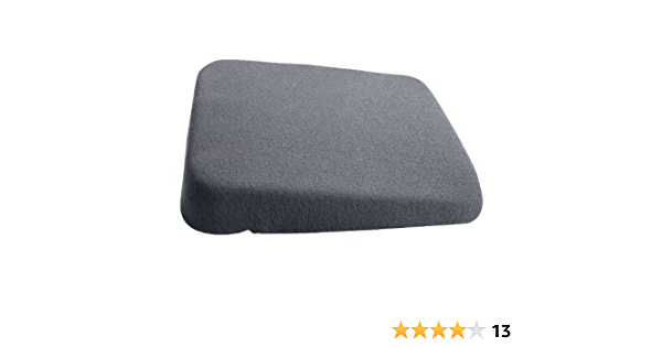 Replacement for Parts-WEDGEEASE A 3 to 1 Wedge with Memory Foam and Poly Foam and Optional Memory Foam Cutout.