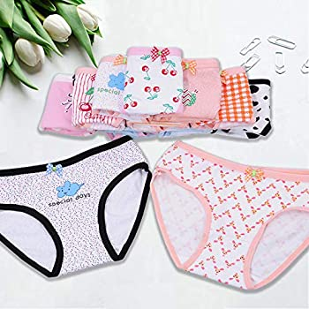 Anktry Baby 12 Pack Panties Soft Comfort Knickers Cotton Underwear Little Girls Assorted Briefs 2-10 Yrs
