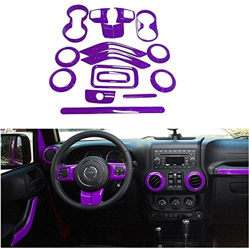 purple jeep wrangler wheel cover - 8