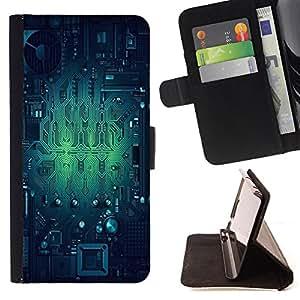Skull Market - FOR HTC One M7 - Mixed up world - Caja de la carpeta del tirš®n del cuero de la PU [con ranuras para tarjetas y cierre de solapa magnšŠtica] Pš¢rese cubierta de la caja