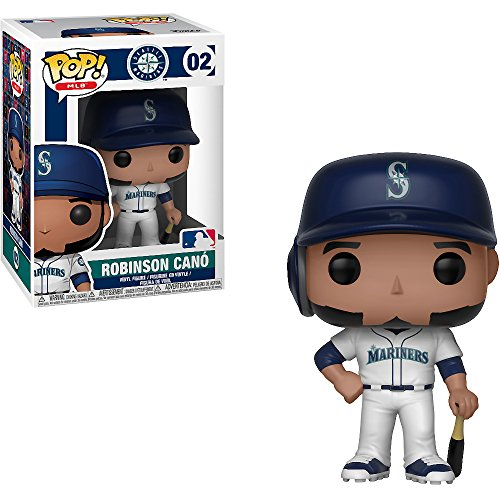 Funko Robinson Canó [Seattle Mariners]: x POP! MLB Vinyl Figure + 1 Official MLB Trading Card Bundle [#002 / 30219]
