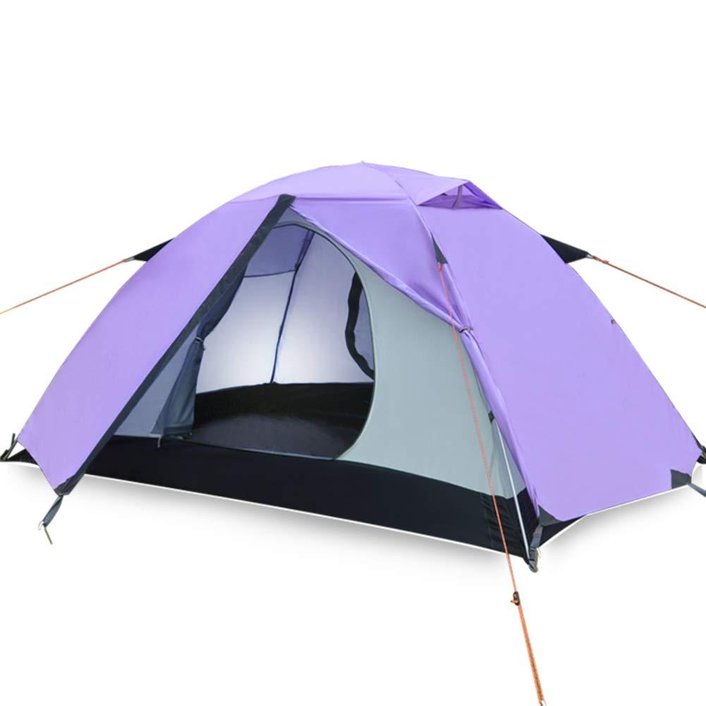 AsgkCnmi Mochila de Pop-up automática Tiendas,Cabaña Camping Plegable Impermeable y Anti-UV para Alpinismo de Playa Parque-A 200x140x100cm