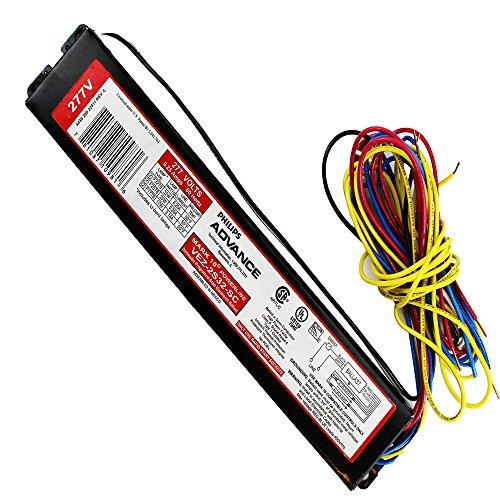 (Advanced Ballasts VEZ-2S32-SC Fluorescent Dimming Ballast, 2 Lamp, F32 T8, 277V)