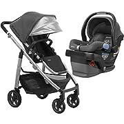 aeffc9876212 2018 UPPABaby CRUZ Stroller - Jordan (Charcoal Melange/Silver/Black  Leather) +