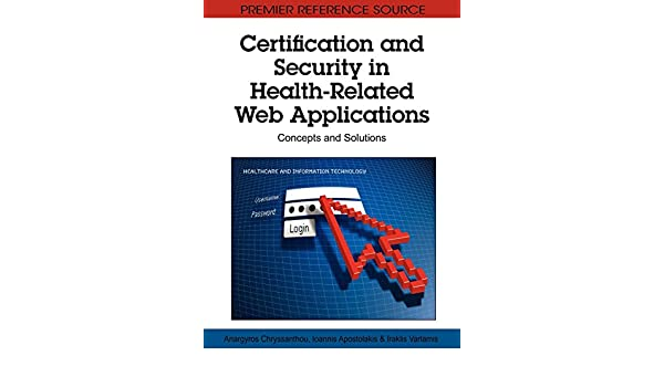 Certification and Security in Health-Related Web