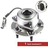 MOSTPLUS Wheel Bearing Hub Front Wheel Hub and Bearing Assembly for A Equinox Torrent Vue with ABS 5 Lug 513189 Driver or Passenger Side