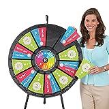 Tabletop Prize Wheel 12 to 24 Slots (31 Inch Diameter)