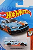 Hot Wheels 2019 Muscle Mania Custom '18 Ford Mustang GT 180/250, Light Blue and Orange