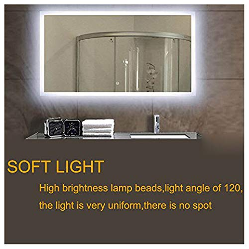 Mirror not Included ROYFACC LED Mirror Lights Hollywood Style Makeup Table Light Dressing Vanity Light Strip Light Brightness Adjustable 240 LEDs 13ft 6000k White Flexible