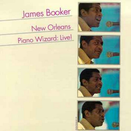 New Orleans Piano Wizard: Live! by BOOKER,JAMES
